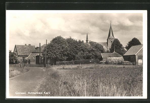 AK Gorssel, Achterkant Kerk 0