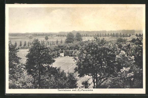 AK Doetinchem, Tennisbaan met Zij-Panorama 0