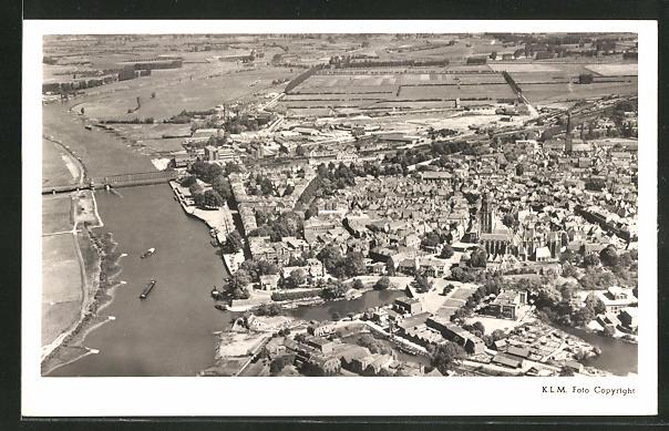 AK Zutphen, Blick auf die Stadt 0
