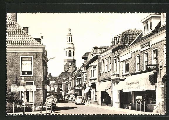AK Nijkerk, Langestraat mit Stadsgezichten 0