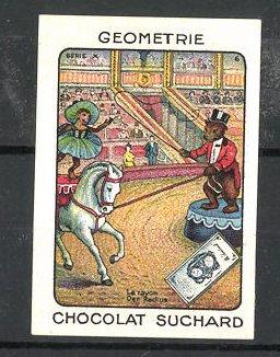 Reklamemarke Chocolat Suchard, Zirkus, der Radius 0
