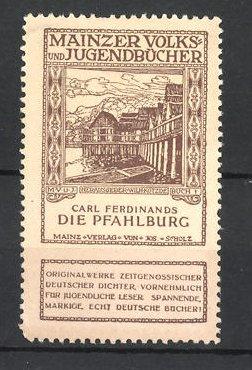 Reklamemarke Mainzer Volks- und Jugendbücher, Carl Ferdinands