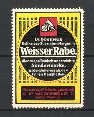 Reklamemarke Dr. Boemers
