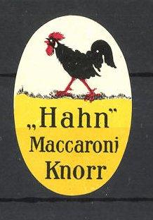 Reklamemarke Knorr