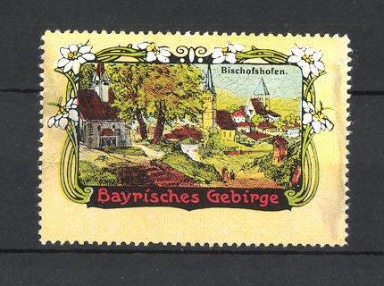 Reklamemarke Bayrisches Gebirge, Bischofshofen