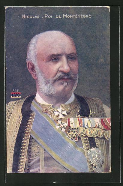 AK Nicolas Roi de Montenegro