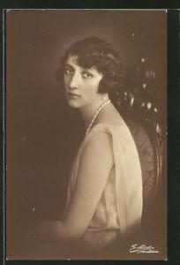 AK Portrait der jungen Prinzessin Märtha von Schweden