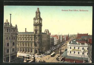 AK Melbourne, General Post Office
