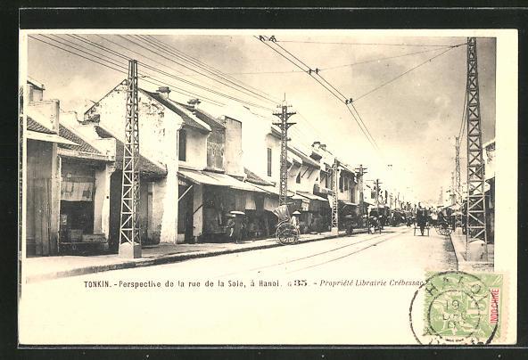 AK Hanoi, Perspective de la Rue de la Soie