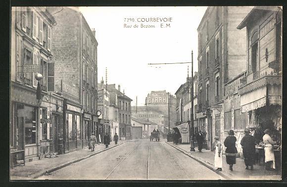 AK Courbevoie, Rue de Bezons