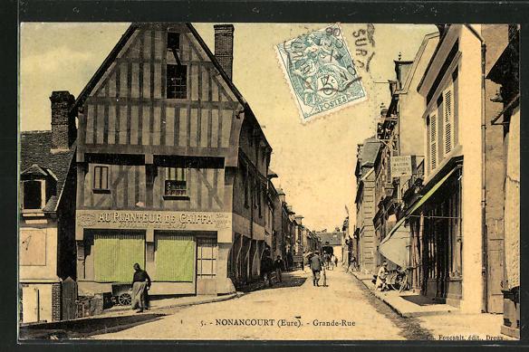 AK Nonancourt, Grande-Rue