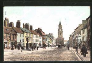 AK Berwick-on-Tweed, High street & Town Hall