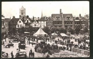 AK Salisbury, View of the Market, Marktplatz