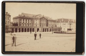 Fotografie Fotograf unbekannt, Ansicht Metz, Partie am Opernhaus