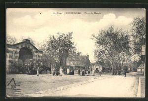AK Rouffignac, Place du Marché