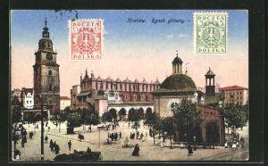 AK Krakau-Krakow, Rynek gtowny