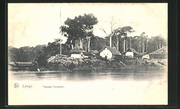AK Belgisch-Kongo, Paysage Congolais