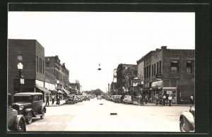 Foto-AK Waseca, MN, North State Street from Elm Ave