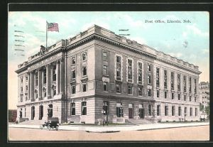AK Lincoln, NE, View of the Post Office