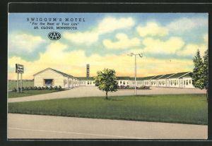 AK St. Cloud, MN, Swiggum's Motel
