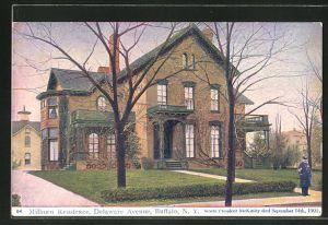 AK Buffalo, NY, Milburn Residence, Delaware Avenue