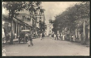AK Colombo, Chatham Street, Strassenpartie