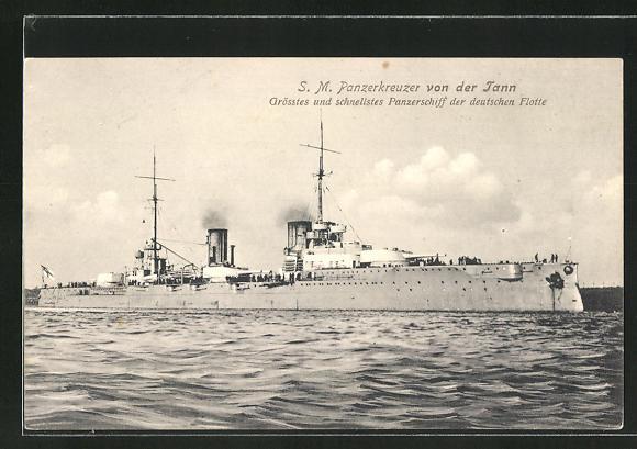 AK Kriegsschiff S.M.