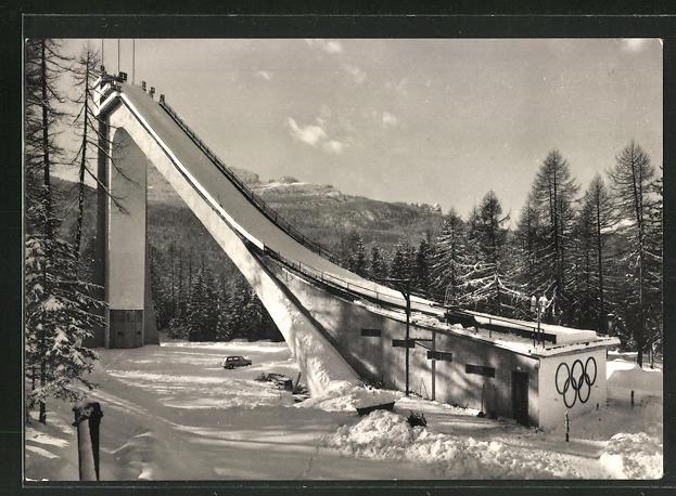 AK Cortina, Trampolino Olimpico, Olympia-Skisprungschanze