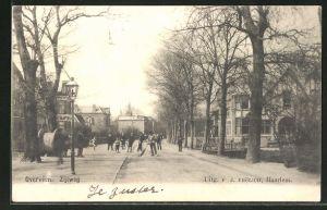 AK Overveen, Zijlweg, Strassenpartie