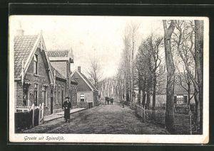 AK Spierdijk, Strassenpartie im Dorf