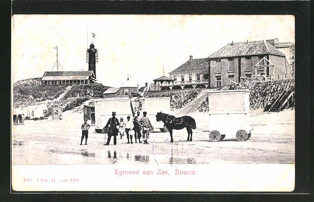 AK Egmond aan Zee, Strandleben