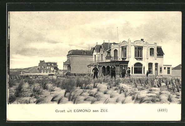 AK Egmond aan Zee, Pension Bellevue am Strand