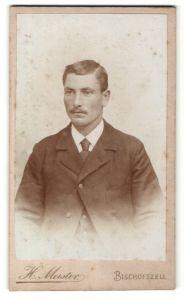 Fotografie H. Meister, Bischofszell, Portrait Herr in Anzug