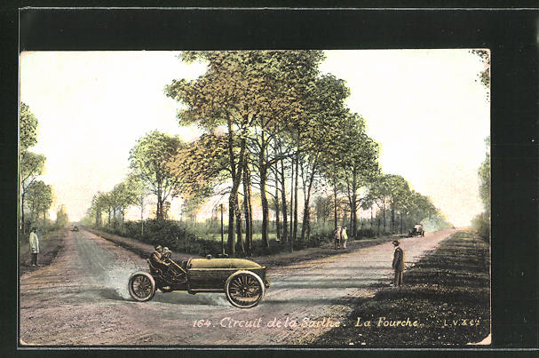 AK Circuit de la Sarthe, La Fourche, Autorennen
