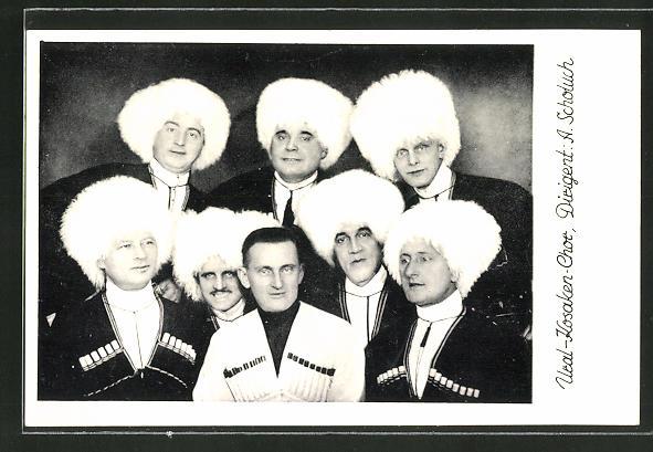 AK Ural-Kosaken-Chor, Dirigent A. Scholuch