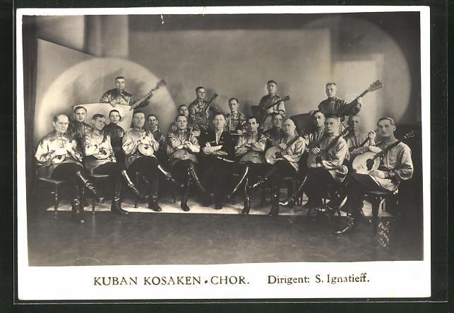 AK Kuban Kosaken-Chor, Dirigent S. Ignatieff 0