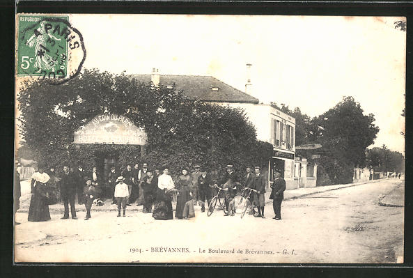 AK Brévannes, Le Boulevard de Brevannes 0