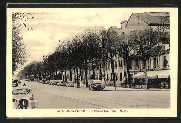 AK Joinville, Avenue Gallieni 0