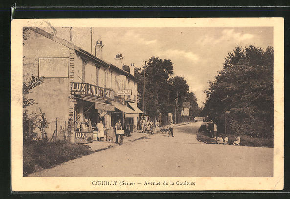AK Coeuilly, Avenue de la Gauloise 0