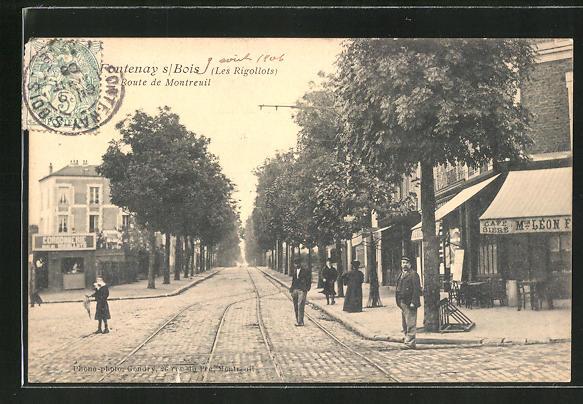 AK Fontenay-sur-Bois, Rote de Montreuil 0