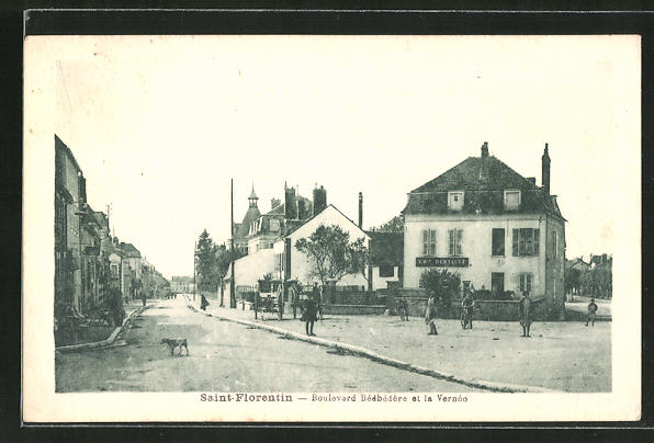 AK Saint-Florentin, Boulevard Bedbedere et la Verneo 0