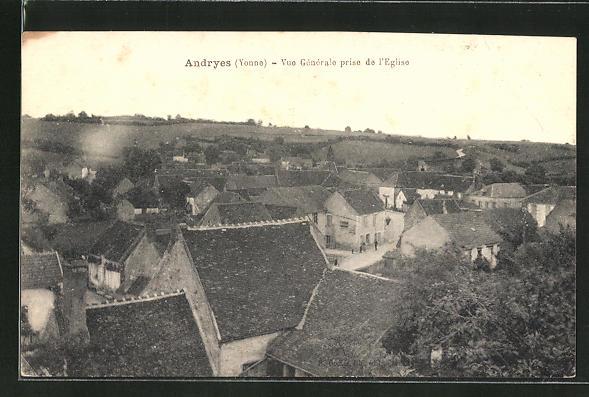 AK Andryes, Vue Generale prise de l'Eglise 0