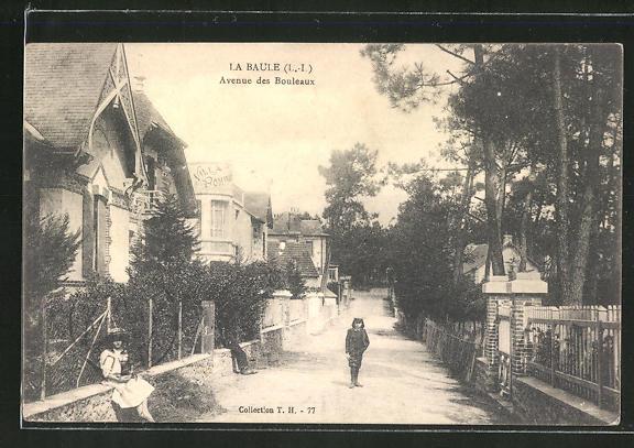 AK La Baule, Avenue Bouleaux 0