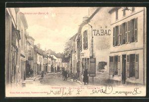AK Vendeuvre-sur-Barse, La Grande Rue, Extremite Est