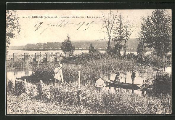 AK Le Chesne, Reservoir de Bairon, Les six pales 0