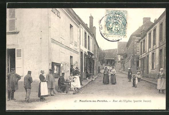 AK Moutiers-au-Perche, Rue de l'Eglise 0
