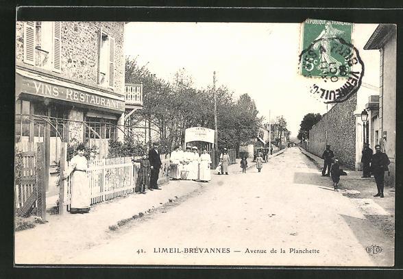 AK Limeil-Brevannes, Avenue de la Planchette 0
