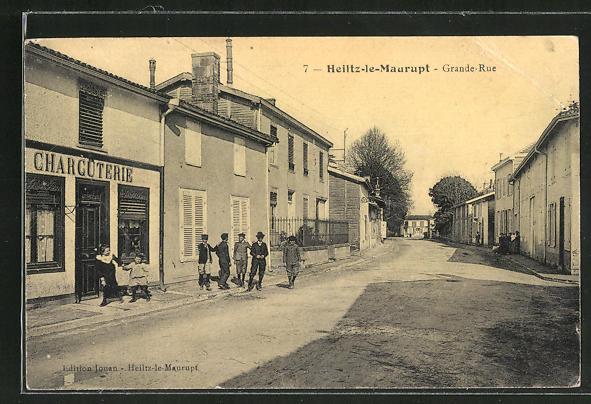 AK Heiltz-le-Maurupt, Grande-Rue