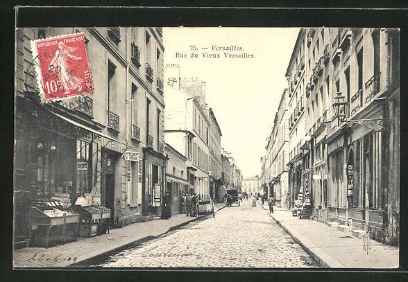 AK Versailles, Rue du Vieux Versailles 0