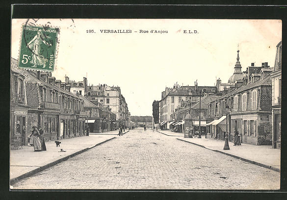 AK Versailles, Rue d'Anjou 0